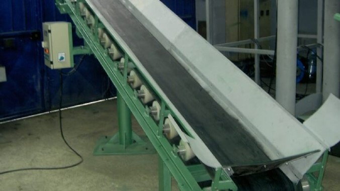 Konveyör PVC Poliüretan Bantlı