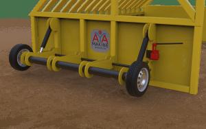 maden cevheri, taş ve kum gibi malzemelerin ayrıştırılmasında avantaj kazandıracak bir üründür.